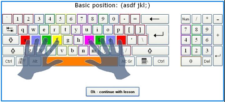 Belajar cara mengetik 10 jari dengan cepat dan benar - posisi duduk yang baik