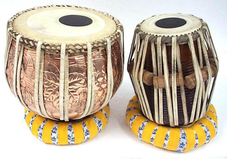 Tabla, alat musik ritmis perkusi tradisional dari India