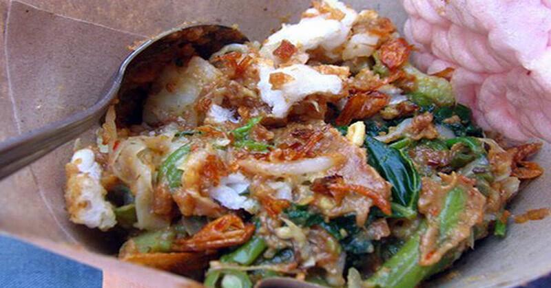 lotek - makanan khas sunda