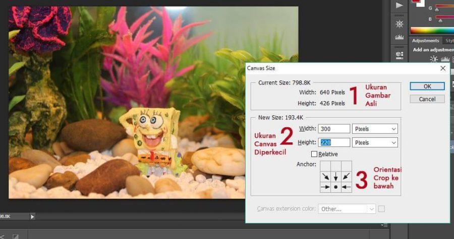 3 Cara Memotong Gambar Di Photoshop Dengan Mudah Dan Cepat