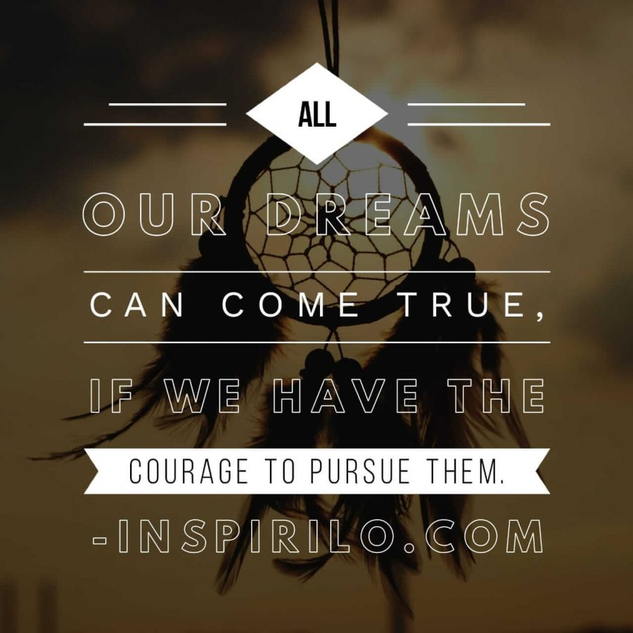 kata-kata bijak bahasa inggris tentang impian